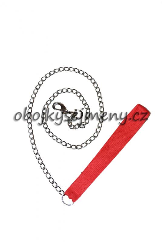 Řetízkové vodítko s nylonovou ručkou AIVA