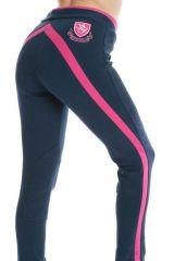 Jezdecké kalhoty/ rajtky • DASH Navy/Pink Sherwood Forest