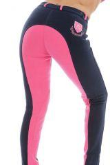 Jezdecké kalhoty/ rajtky • TWO TONE Navy/Pink