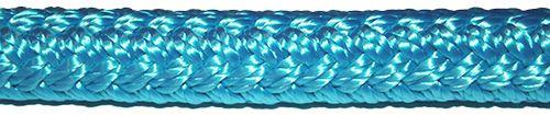 Tyrkysový polyamidový provaz s jádrem