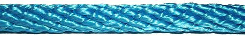 Turkos polyamid rep utan kärna