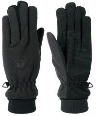 Zimní jezdecké fleecové voděodolné rukavice