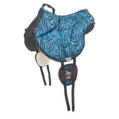 Barefoot Jezdecký PAD Physio modrá zebra