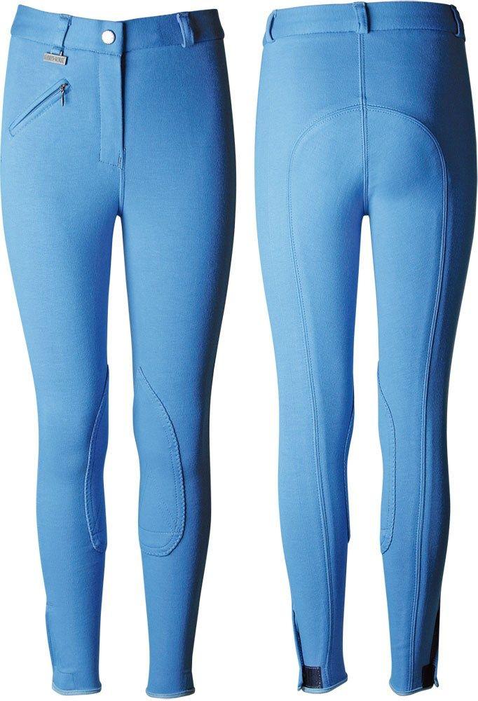 Dětské jezdecké kalhoty Starter modré Harry's Horse