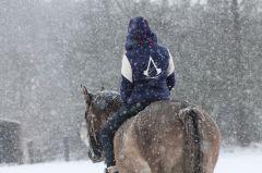 Zimní projížďka :)
