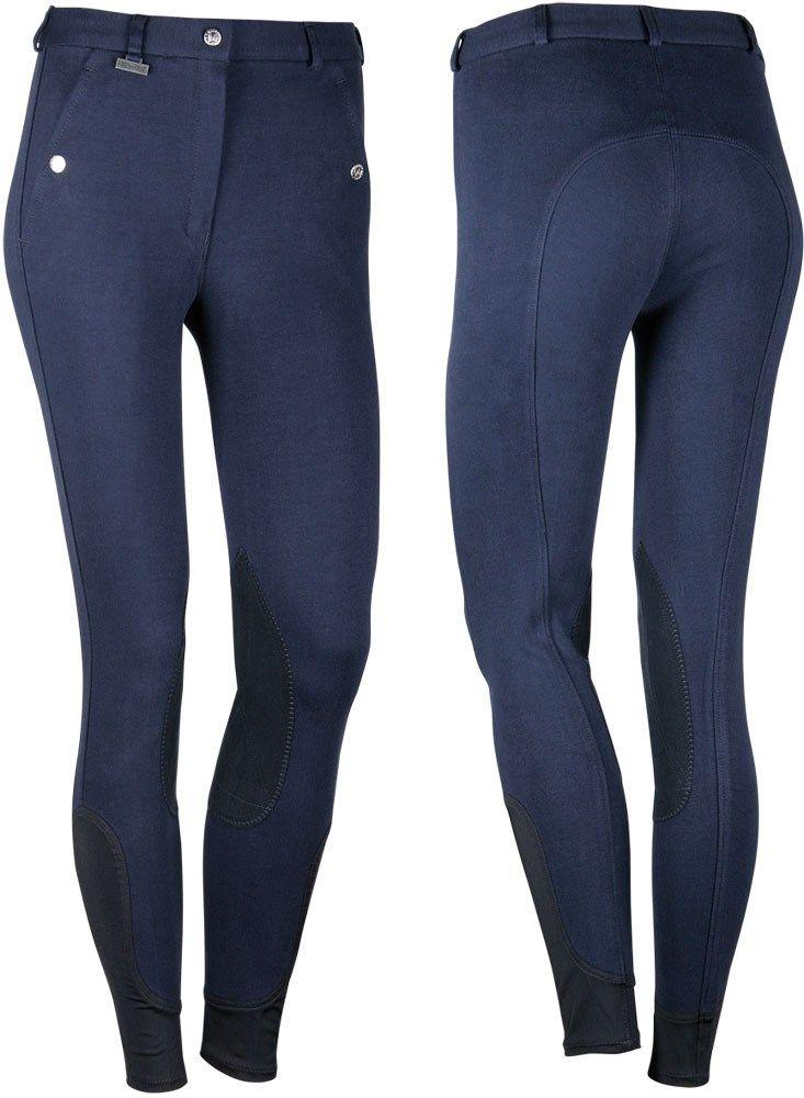 Jezdecké kalhoty Beijing II námořnicky modré Harry's Horse