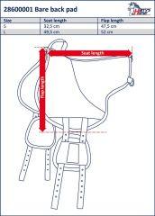 Jezdecký pad (dečka) pro jízdu bez sedla Harry's Horse