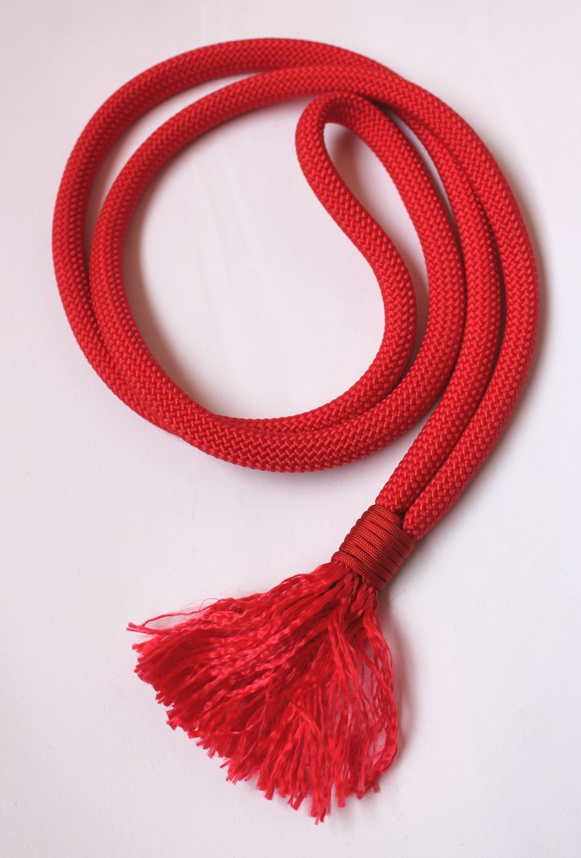 Nákrčník červený PARACORD • 170cm